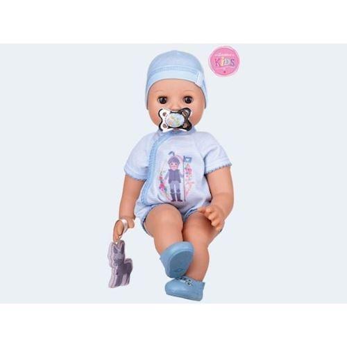 Image of   Baby dukke, Ben, trækker vejret 42cm