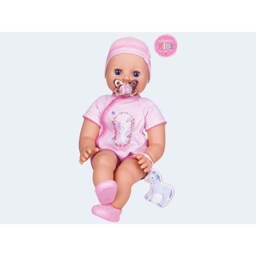 Image of   Baby dukke, Emily, trækker vejret 42cm