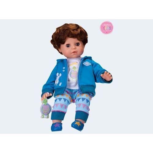 Image of   Baby dukke, Ben med smart hår 36cm
