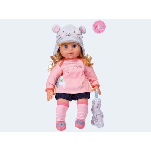 Image of   Baby dukke, Emily med smart hår 36cm