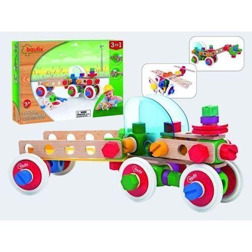 Image of Baufix traktor med trailer (9003150104537)