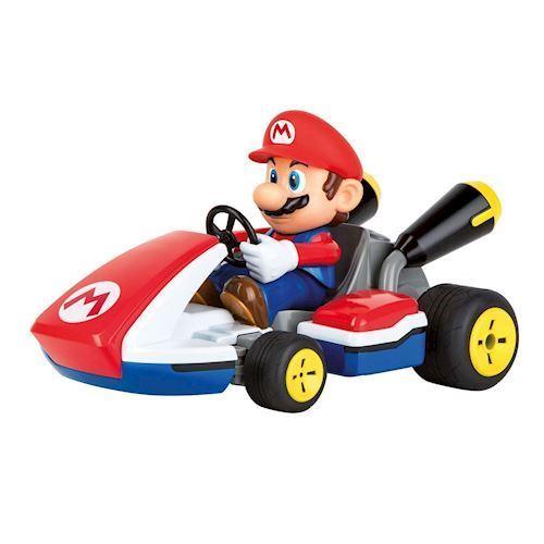 Image of   Carrera fjernstyret bil Mario Kart med lyd 20km / h 1:16