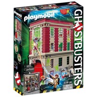 Playmobil Ghostbusters Brandstation 9219