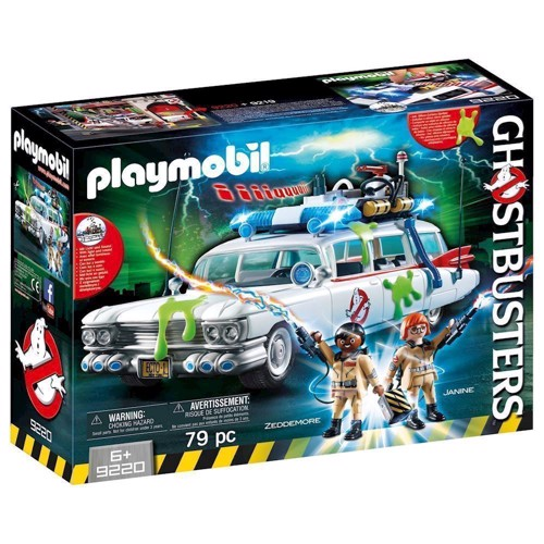 Image of Playmobil Ghostbusters ECTO-1 Bil, 9220 (4008789092205)