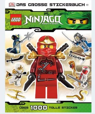 Image of   LEGO Ninjago klistermærkebog
