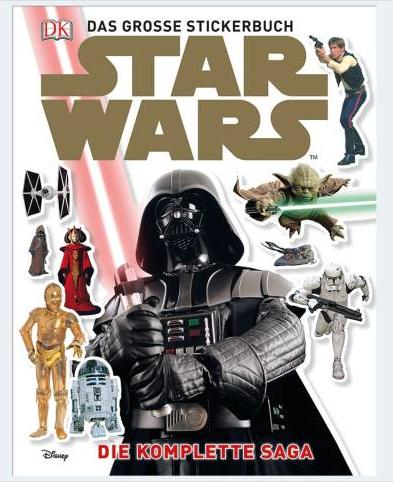 Image of   Star Wars klistermærkebog