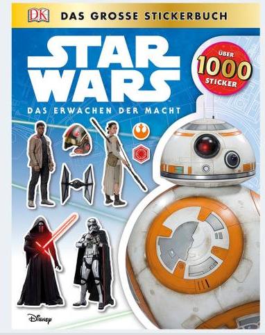 Image of   Star Wars klistermærkebog med over 1000 klistermærker