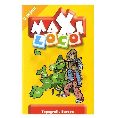 Image of Maxi Loco Europe (10-12) (9789001500313)