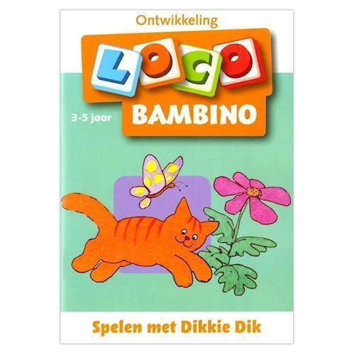 Image of Bambino Loco-play with Dikkie Dik (3-5) (9789001779337)