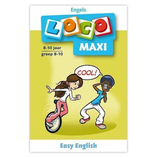Image of Maxi Loco-Easy English (8-10) (9789001779375)