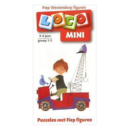 Image of Mini Loco Booklet Puzzling with Pluk van de Petteflet (4-6) (9789001779429)