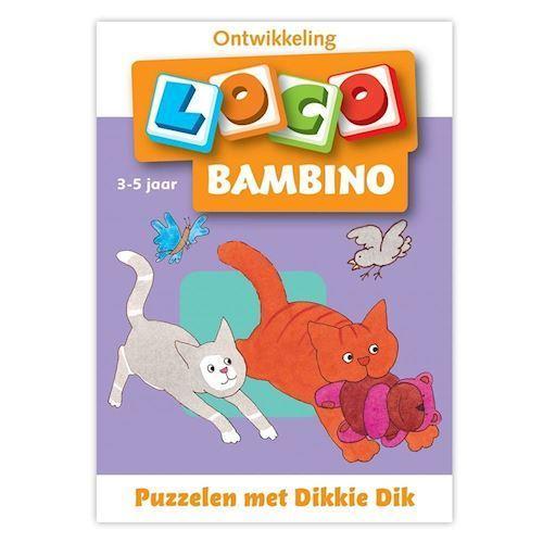 Image of Bambino Loco-Puzzling with Dikkie Dik (3-5) (9789001779856)