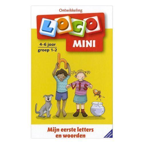 Image of   Loco Mini Pakke, ord og bogstaver