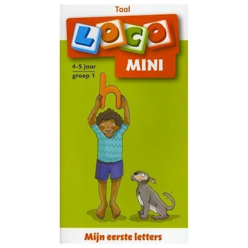 Image of Loco Mini My first letters 4-5 years Group 1 (9789001835828)