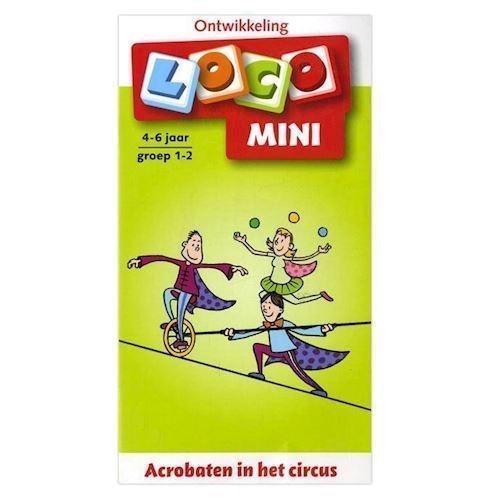 Image of   Mini Loco-Acrobats at the circus (4-6)