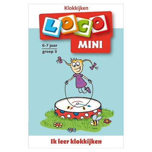 Image of Mini Loco-I learn clock watch (9789001871796)