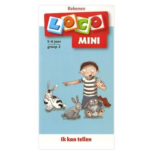 Image of Mini Loco Booklet I can count group 2 (5-6 years) (9789001871963)