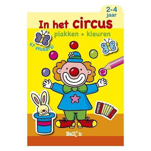 Image of   Cirkus malebog, 2-4 år