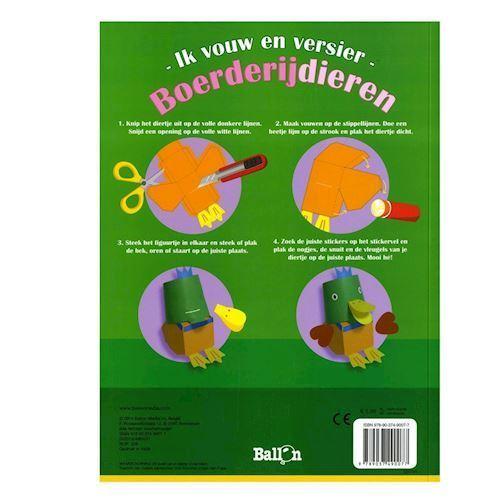 Image of   Fold og dekorer med dyr