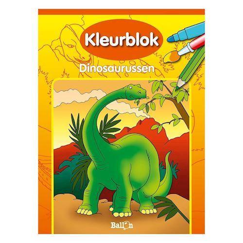 Image of   Maleblok, dinosaur
