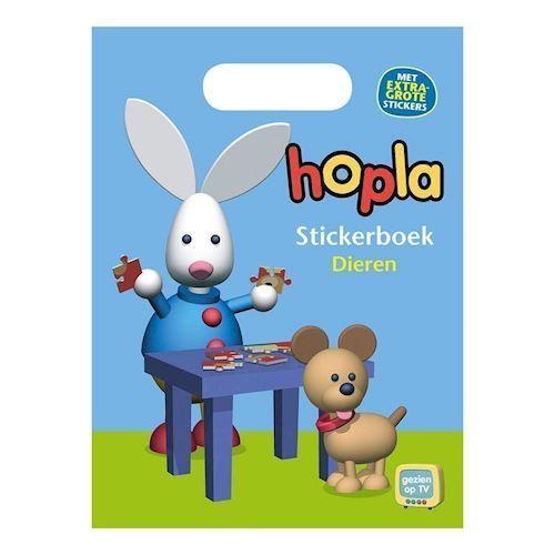 Image of Hopla klistermærkebog med dyr