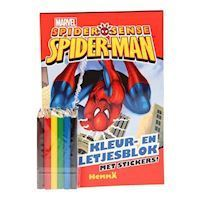 Spiderman Color and Game Block