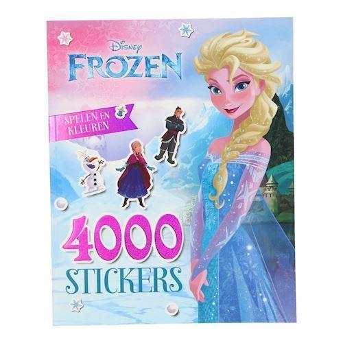 Image of Disney, Frozen/Frost - 4000 Klistermærker (9789041238771)