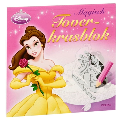 Image of   Disney Princess Magisk kradseblok