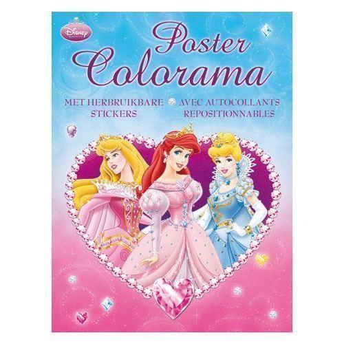 Image of Disney Princess Poster Colorama