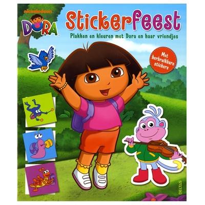 Image of   Dora klistermærker