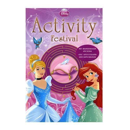 Disney prinsesse, aktivitets bog