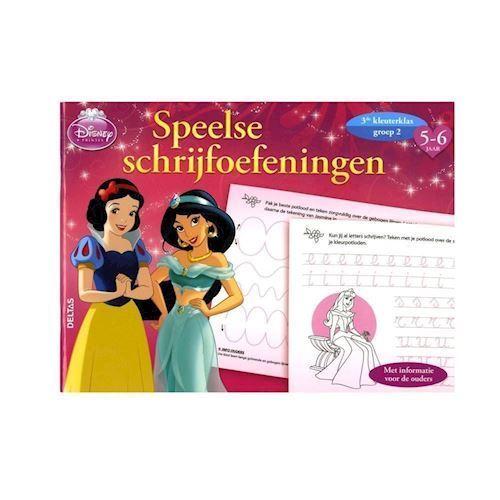 Image of Disney Princess Playful skriveøvelser (9789044737080)