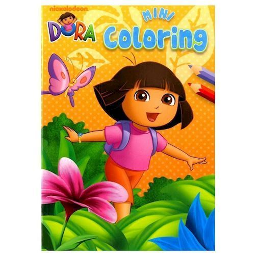 Image of Dora Mini malebog (9789044738575)