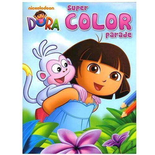 Image of   Dora Super malebog