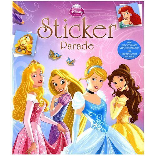 Image of Disney Princess Klistermærker (9789044739336)
