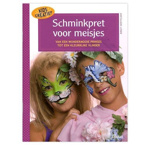 Image of Kids creative, ansigtsmalesjov til piger