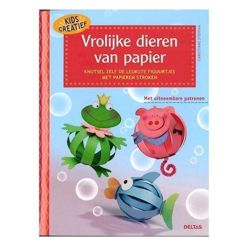Image of   Kids creative, papir dyr