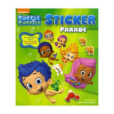 Image of   Bubble Guppies klistermærkebog