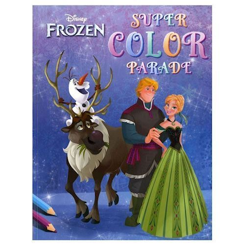 Image of Disney Super Color Parade Frozen, Malebog (9789044741919)