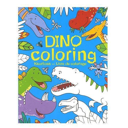 Dinosaur malebog