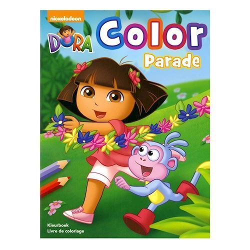 Image of Dora Color Parade, malebog (9789044744392)