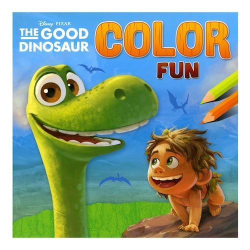 Den gode dinosaur, malebog
