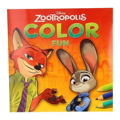 Disney Zootropolis malebog