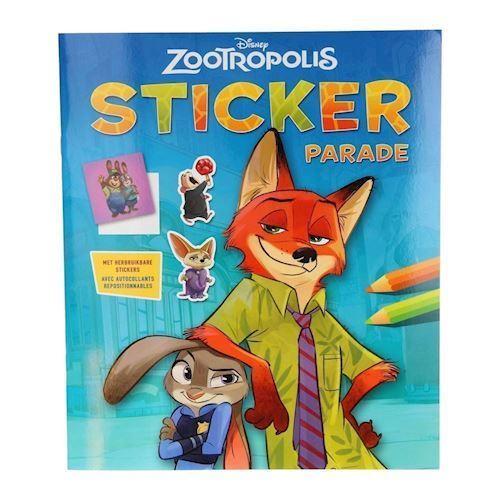 Disney Zootropolis Sticker Parade klistermærker