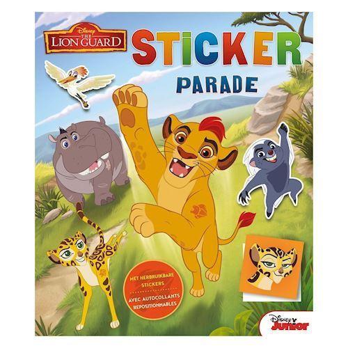 Disney løvernes garde klistermærke Parade