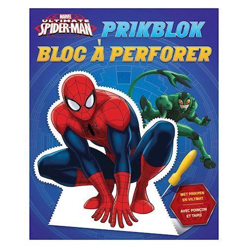 Image of Spiderman prikke blok (9789044747386)
