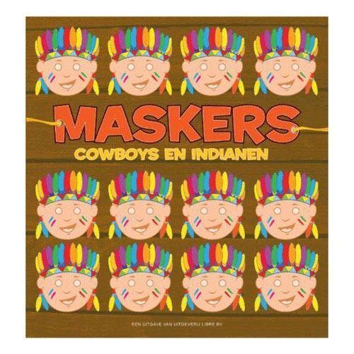 Masker, cowboy og indianer