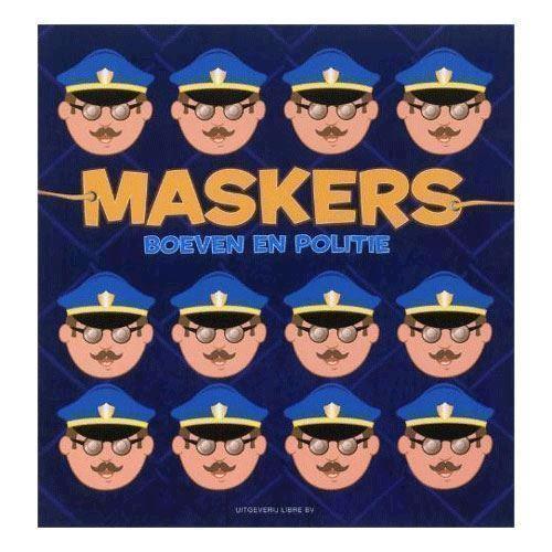 Masker, politi og røver