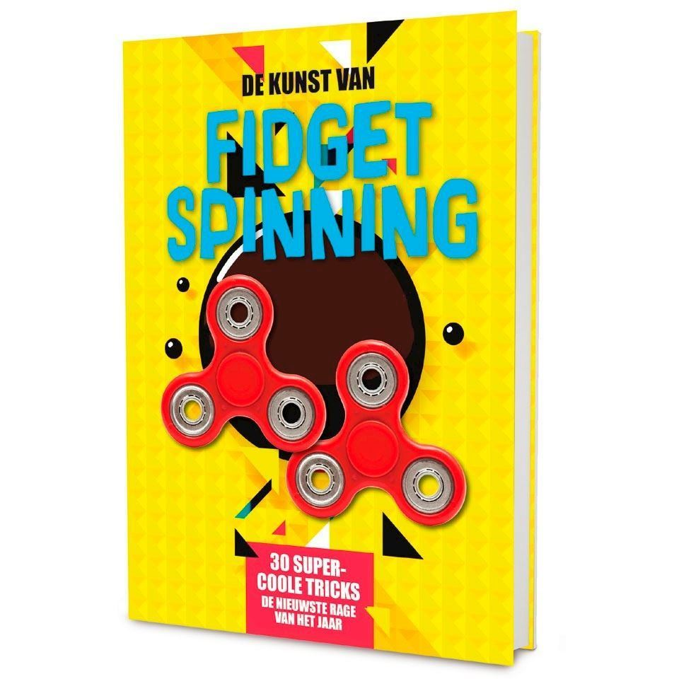Image of Fidget Spinner -The art of Fidget Spinning (9789463332033)
