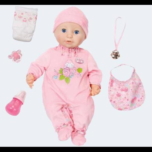 Image of Baby Annabell interaktiv dukke 46cm pige